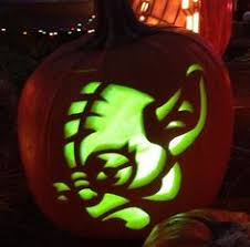 Yoda Pumpkin Stencil by Yoda Pumpkin Stencil