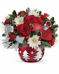 Thomas Kinkade Christmas Tree Teleflora by Toshi S Flowers U0026 Gifts