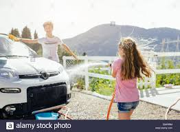 Boy Washing Car Stock Photos & Boy Washing Car Stock Images - Alamy