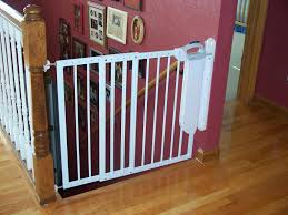 Smart Baby Gates For Stairs » Home Decorations Insight Model Staircase Gate Awesome Picture Concept Image Of Regalo Baby Gates 2017 Reviews Petandbabygates North States Tall Natural Wood Stairway Swing 2842 Safety Stair Bring Mae Flowers Amazoncom Summer Infant 33 Inch H Banister And With Gate To Banister No Drilling Youtube Of The Best For Top Stairs Design That You Must Lindam Pssure Fit Customer Review Video Naomi Retractable Adviser Inspiration Jen Joes Diy Classy Maison De Pax Keep Your Babies Safe Using House Exterior