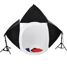 100 Studio Tent Upgraded Photo 32 Light SoFtbox Lighting Kit Backdrops 3x 65w Bulbs