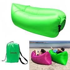 canap hamac chaise longue gonflable canapé avec sac de transport hamac air