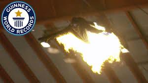 Flaming human arrow Guinness World Records Italian Show Ep 18