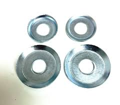 100 Destructo Trucks Cup Washers Silver Set Of 4