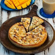 burmesischer kuchen aus weizengriess shwe gyi mont