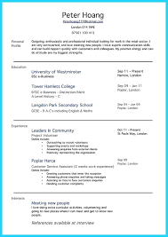 100 Extra Curricular Activities For Resume In Sample Math Awesome