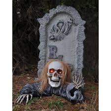 Kmart Halloween Decorations 2014 by Skull Groundbreaker With Tombstone Halloween Prop