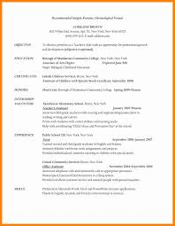 Sample Resume Teacher Assistant Awesome Objective With