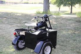 1952 Cushman Eagle Motor Scooter With Sidecar US 460000