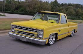 100 C10 Chevy Truck 1981 Chevrolet Chrome Yellow