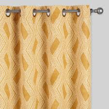 Geometric Pattern Window Curtains by Striped Curtains U0026 Colorful Patterned Drapes World Market