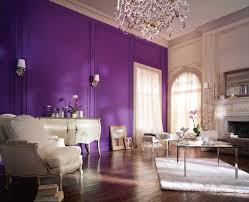 Living Room Paint Ideas Purple Accent Wall