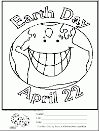 Brilliant Earth Day Coloring Page Ginorma Kids With Pages And