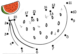 Click To See Printable Version Of Watermelon Dot