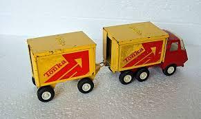 Vintage Tonka Tandem Truck 55013, 55321.Wagon And Drag | Tandem