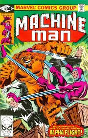 Machine Man 1978 1st Series 18
