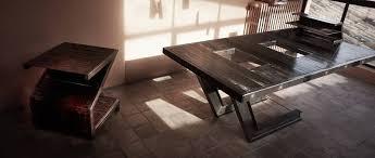 bureau en acier création d une table bureau en acier et verre à aix en provence nad