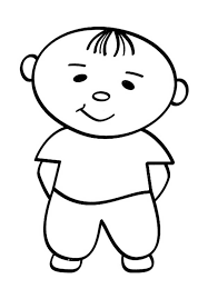 Little People Cute Baby Coloring Pages