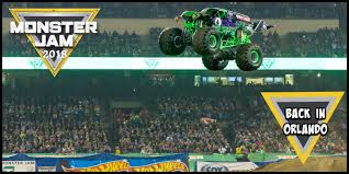 100 Monster Truck Orlando Jam 2018 See Gravedigger And MaxD At The Pit Party