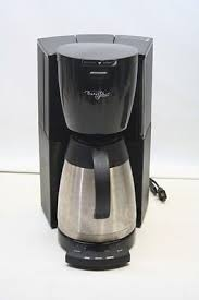 Starbucks Barista Aroma Programmable 8 Cup Coffee Machine Maker Model BA1 Stainless Steel Black