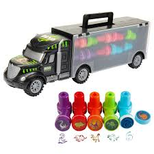 100 Dinosaur Truck Oumoda S Transport Car Carrier Toy With