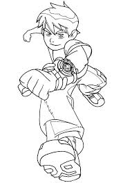 Ben 10 Coloring Pages Pdf