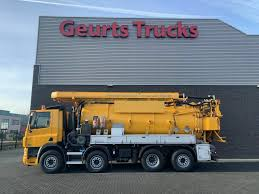 100 Used Vacuum Trucks Truck DAF CF 85 430 8X2 KROLL COMBI KOLKENZUIGER