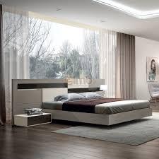 chambre design adulte adulte contemporaine design moderne chêne et laque pietra