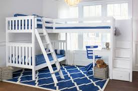 Low Loft Bed With Desk Underneath by Buying Guide For Kids Bunk Beds Maxtrix