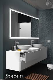 badspiegel new york mit stilvoller led beleuchtung