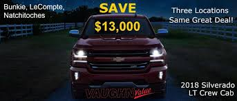 100 Used Trucks In Alexandria La Vaughn Chevrolet In Lecompte LA Serving And Pineville