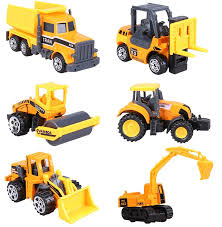 100 Construction Trucks For Sale Amazoncom Cltoyvers 6 Pcs Mini Metal Vehicle Toys Set