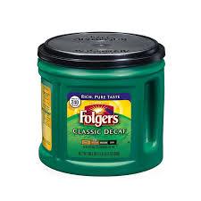 FolgersR Classic Decaf Coffee