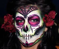 Easy Sugar Skull Day Of by Sugar Skull Day Of The Dead Demo Makeup By Jessicamartinmakeup On