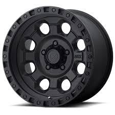100 16 Truck Wheels ATX AX201 15 18 Cast Iron Black ATX