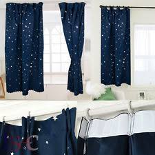 Navy And White Striped Curtains Uk by Childrens Lined Curtains Ebay