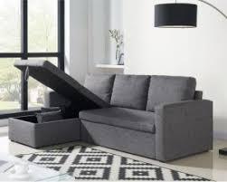 cdiscount canapé d angle canapé d angle aspen convertible en tissu gris chiné à 299