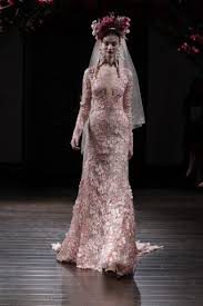 bridal fashion week the most memorable wedding dresses from the