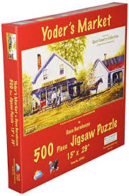 SunsOut 27861 500 Piece Yoders Market Puzzle Art And Craft Product