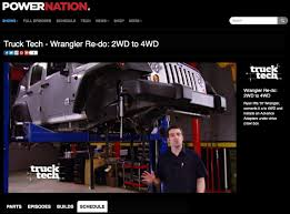 100 Trucks Powerblock PowerNation Truck Tech Watch Them Convert A 2WD Jeep To 4WD BDS