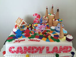 Cakes Decorated With Sweets by Best 25 Candy Land Cakes Ideas On Pinterest Cake Land Piping