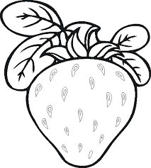 Pin Fruits Vegetables Clipart Coloring Page 3
