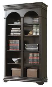 Open Bookcase by Mahogany And More Bookcases Beaumont Lighted Double Open Bookcase