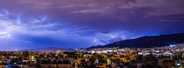 Cloud Sky Skyline Night Cityscape Dusk Evening Weather Lighting Lightning Thunder Bolt Thunderstorm Rainstorm Storm