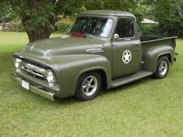 100 1953 Ford Truck For Sale Ford F100 Truck Rat Rod Military Custom