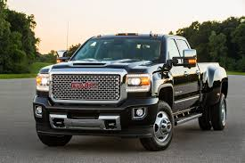100 Diesel Small Truck 2017 GMC Sierra HD Powerful Heavy Duty Pickup S