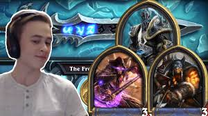 Hunter Hearthstone Deck Kft by Hearthstone Defeating The Lich King Mage And Hunter Youtube
