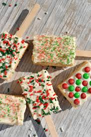 Rice Krispie Christmas Tree Pops by Holiday Treats For The Classroom White Chocolate Rice Krispie