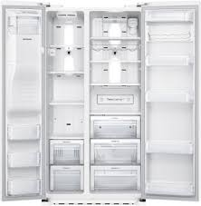 Samsung Counter Depth Refrigerator by Samsung Rs22hdhpnww 36 Inch Counter Depth Side By Side