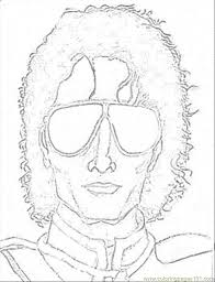 Free To Download Michael Jackson Coloring Pages 61 In Picture Page With Printable